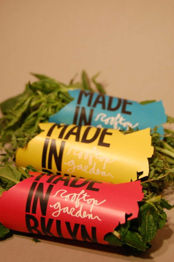 City-Shaped Produce Packaging - Made in BKLYN Herb Wrappers Assert the Contents' Local Origins (GALLERY)