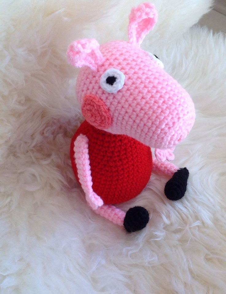 Peppa Wutz Peppa Pig Spielzeug Kuscheltiere Häkeltier Amigurumi   eBay