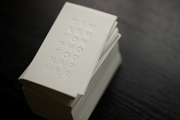 Business cards • Thunderwing Press • Graphic Design • Typography • Letterpress / Impression typographique / Débossage