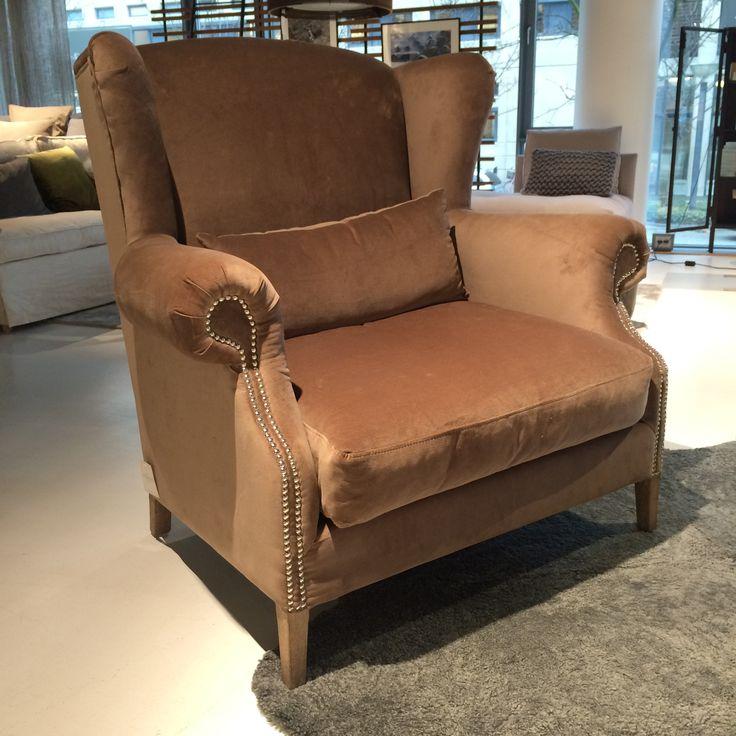 'It's all about the comfort' - perfekt lænestol til aftenkaffe foran pejsen.