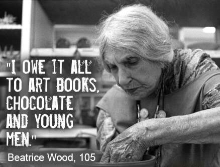 Beatrice wood. A Potter .