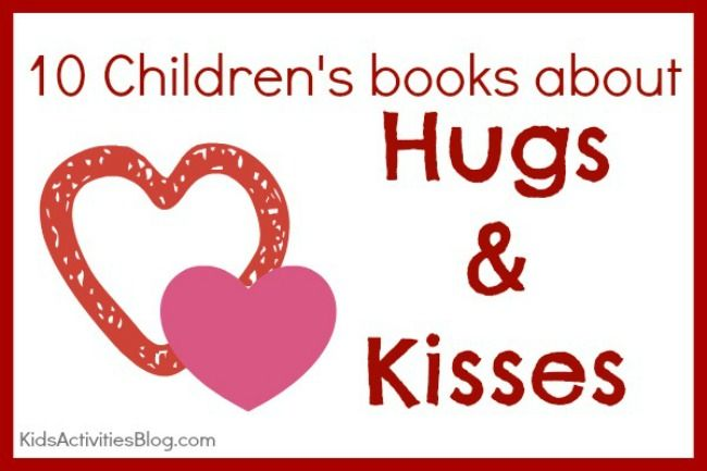 {Story Time} Books to Read: Hugs and Kisses by Andie Jaye at Kids Activities Blog