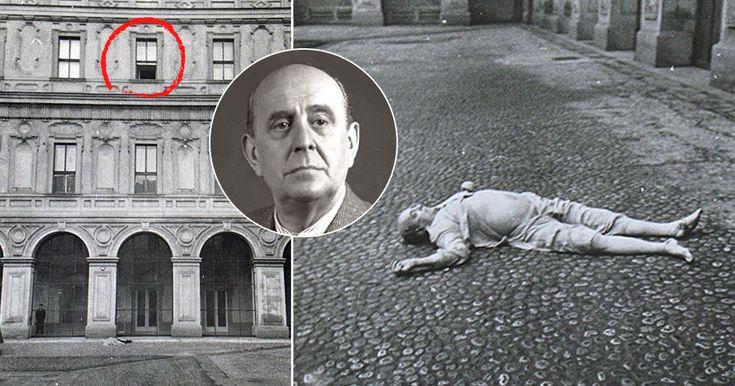 GALERIE: Muž, který fotil mrtvého Jana Masaryka, promluvil! StB mi hned sebrala foťák | FOTO 1 | Blesk.cz