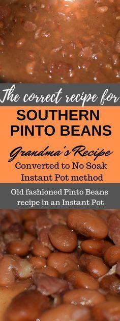Wie man südliche Pintobohnen bildet