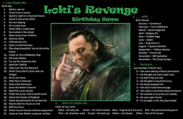Loki made me play ding-dong-ditch-'em with Scott Fitzgerald because he wanted us to prove our loyalty, but then he made me a general in his army