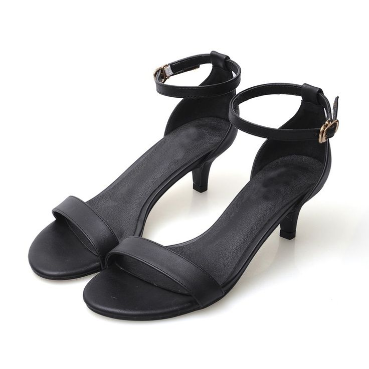 51.78$  Buy here - http://ali1eg.worldwells.pw/go.php?t=32736595659 - 2017 Size 34-41 Genuine Leather Sexy Women Sandals High Heels Ladies Pumps Shoes Woman Sandales Summer Style Chaussure Femme