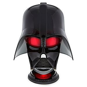 Darth Vader Helmet Bluetooth Wireless Speaker | Disney Store Prepare to face the full power of the Dark Lord when you turn up the volume on this Darth Vader Helmet Bluetooth Wireless Speaker. With its light-up eyes, two speakers, and a woofer, it's a Force to be reckoned with.