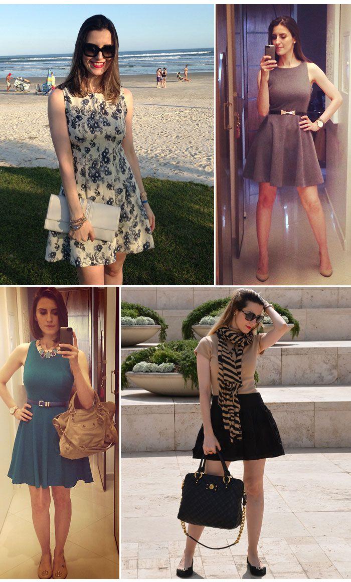 Vestido Lady Like  Look da Cinthia Ferreira do MakeUp Atelier #ModaNoMake