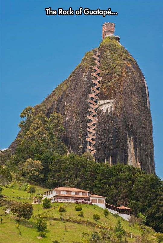 Stunning View. Would love to walk to the top....