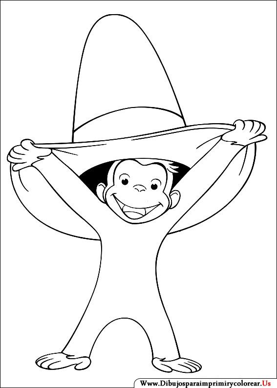 curious george coloring picture kids can color at birthday party eilert who is this hannah thanks for the fat girl pics - Curious George Coloring Book In Bulk