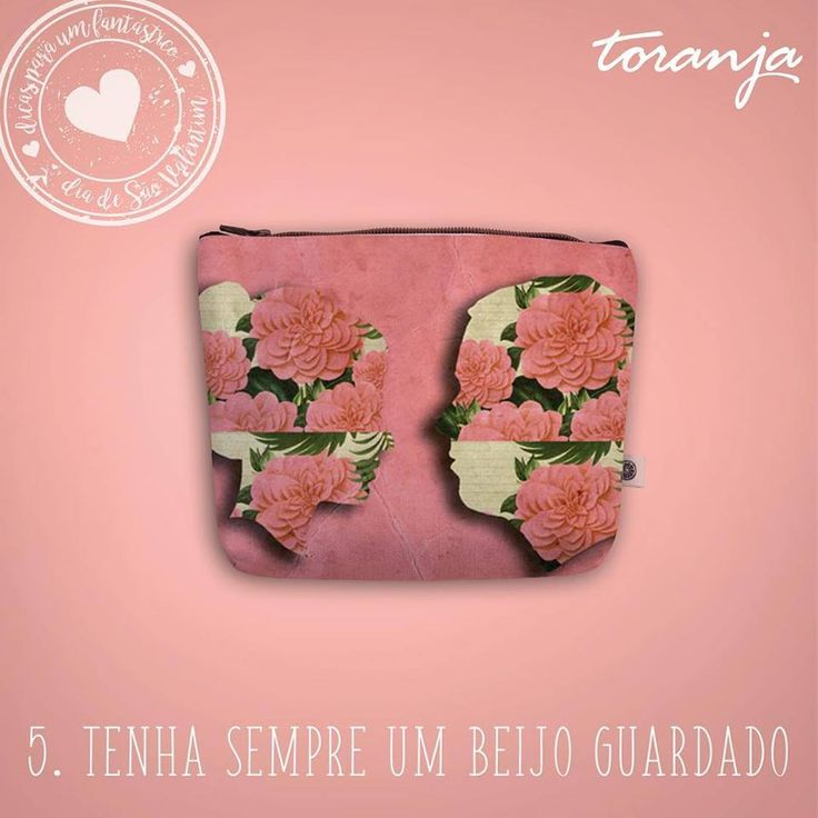 Clutch Toranja - Couple by Benedita Feijó