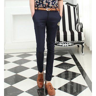 Style:+Casual+ Material:+Polyester+ Fit+Type:+Regular+ Waist+Type:+Low+ Closure+Type:+Zipper+Fly+ Front+Style:+Flat+ Weight:+1KG+ Pant+Length:+Long+Pants+ Pant+Style:+Pencil+Pants+ Package+Contents:+1+x+Pants