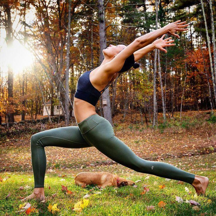 crescent lunge | yoga