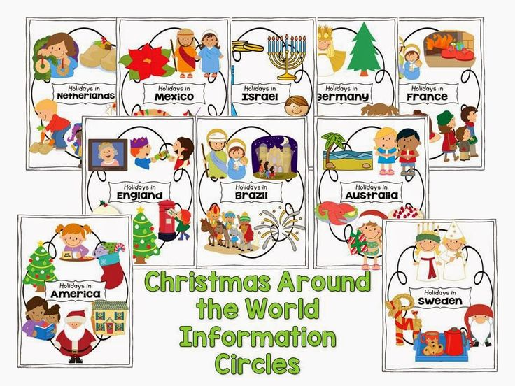 Christmas Around The World Craft Ideas Part - 15: Christmas Around The World And A FREEBIE. Classroom ActivitiesPreschool ...