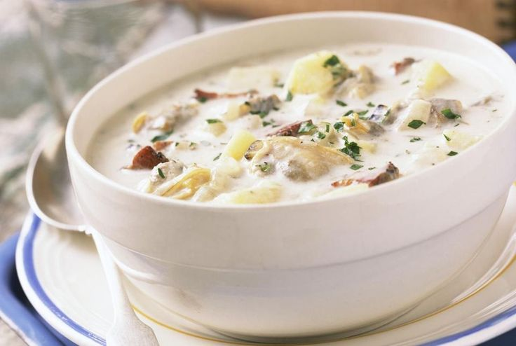 Emeril's Boston Clam Chowder Recipe -****This is NOT the Clam Chowda that I grew up eating as a baby in New Hampshire but it is DARN good anyway - Brandon