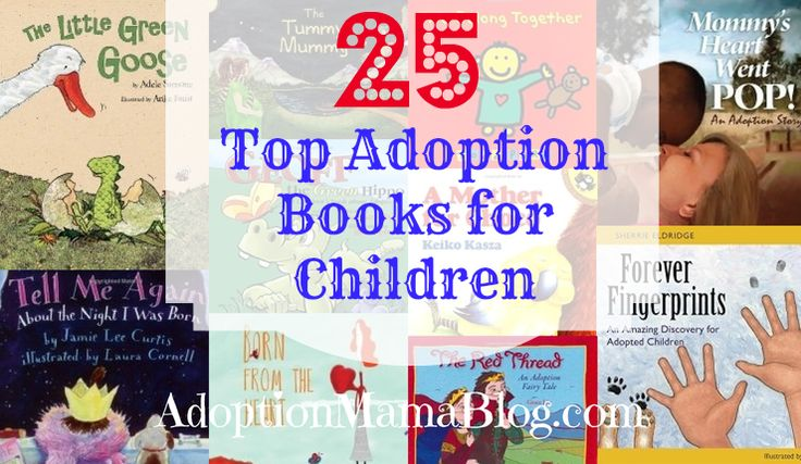 There are books for kids about going to school, going to the doctor and so much more — but did you know there are adoption books for kids? Adoption Mama Blog lists her top 25 adoption books, so you can read them together in time for National Adoption Day on Nov. 22 (and the first World Adoption Day on Nov. 9)! Are there any others you'd recommend?