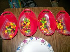 Math = Love: Modeling Exponential Growth and Decay with Skittles