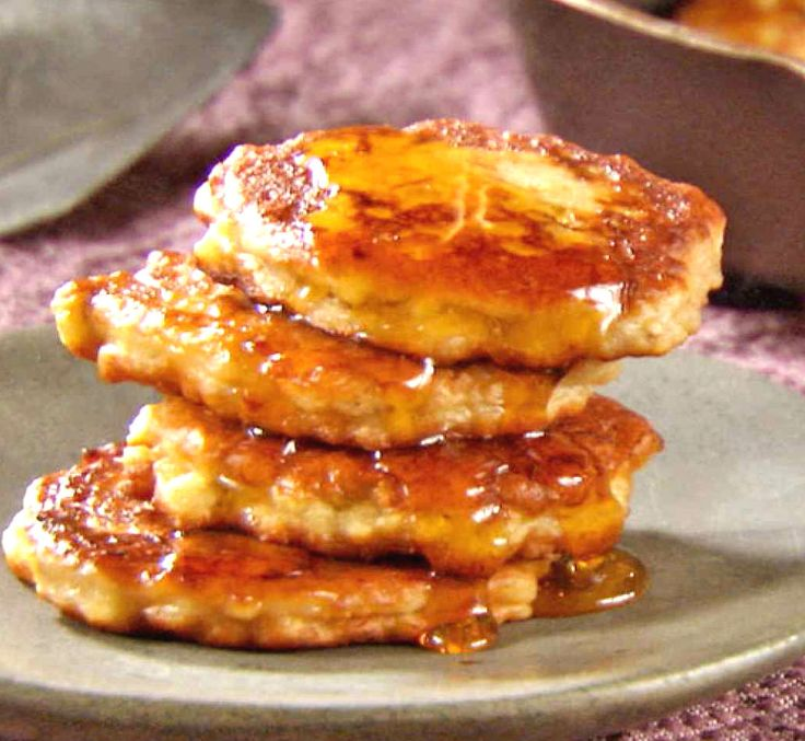 Good and nutrients: the right #snack for the #summer ... #Banana #Fritters