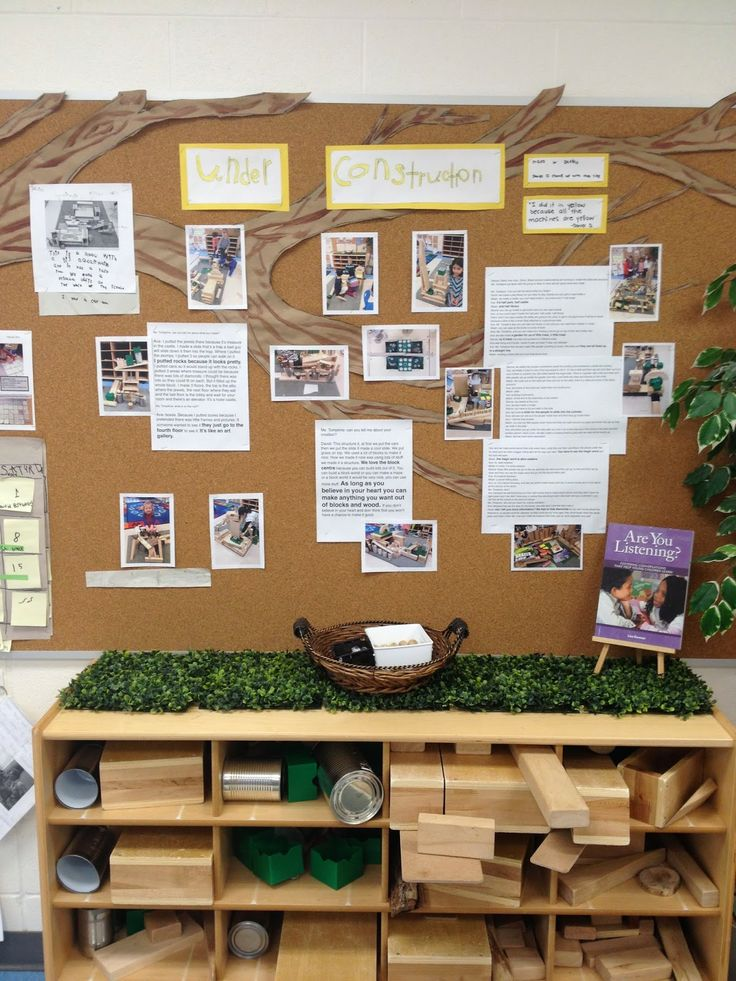 Student created documentation board displays the kids work for everyone!
