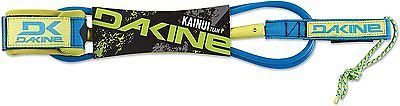 Other Surfing 2916: Dakine Kainui Team Surfboard Leash, Neon Blue, 7 X 1/4 BUY IT NOW ONLY: $34.78