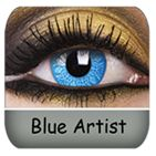 Blue Artist Coloured Contact Lenses :) $33.99 a Pair. So Awesome!!!