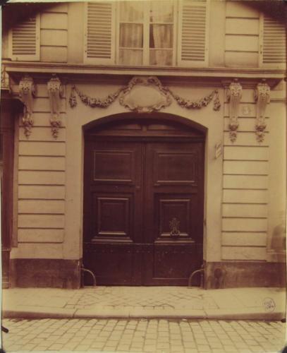Porte, hôtel de Luynes, 3 rue Jacob, 6ème arrondissement, Paris | Paris Musées
