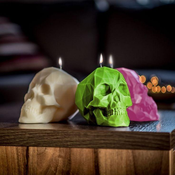 Świeca czaszka genialna:).