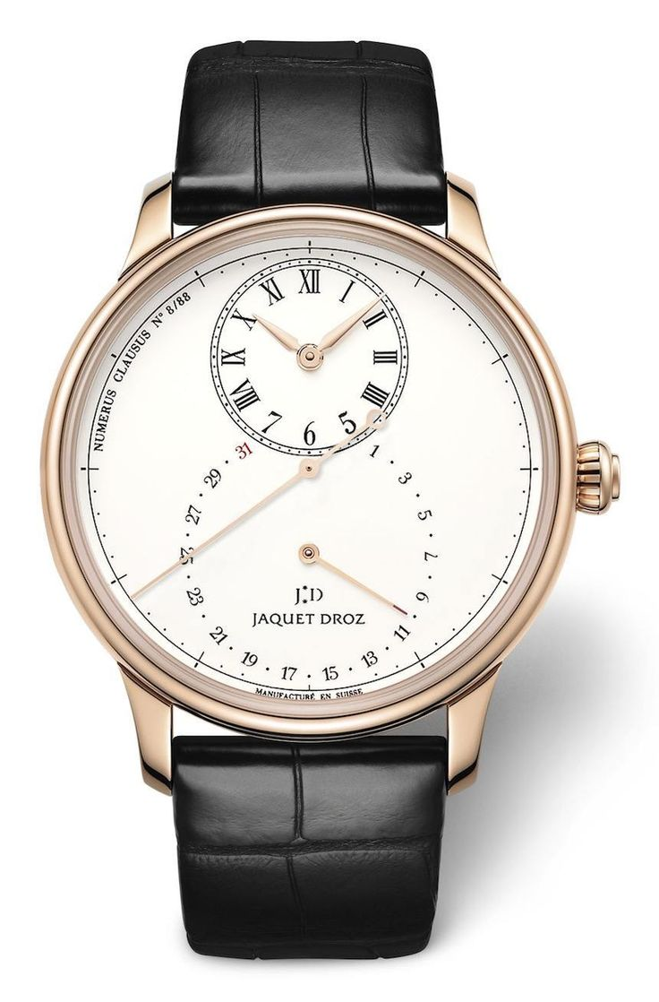 Jaquet Droz Grande Seconde Deadbeat Watch | Watch it | Pinterest | Watches, Luxury watches and Watches for men