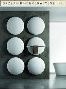 Model grzejnika Moon idealnie pasuje do reprezentacyjnego pokoju kąpielowego w domu lub w hotelu. Po usunięciu uchwytu na ręczniki, staje się odpowiedni do instalacji w dowolnym pomieszczeniu.