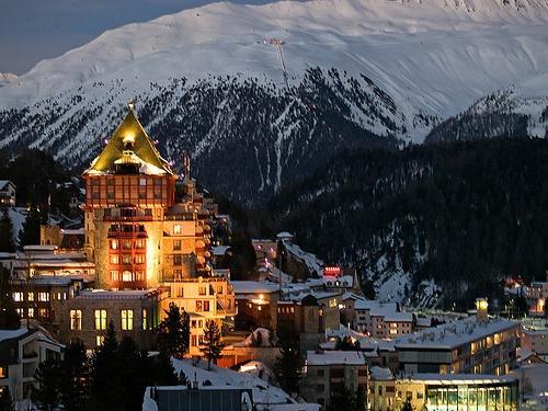 St. Moritz, Switzerland.....