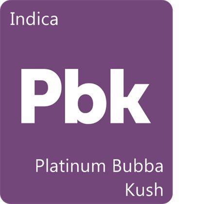 Platinum Bubba Kush Strain Information