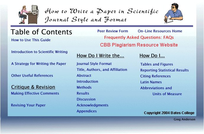 Documentation webpage in essay