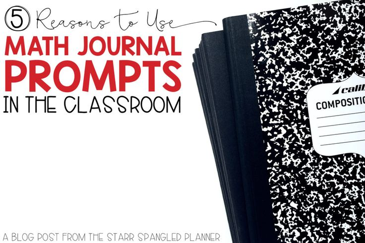 Math Journal Prompts are perfect of any classroom! They're naturally differentiated and keep those fast finishers busy for the ENTIRE math period! Check out how easy math journaling is to set up in your classroom!