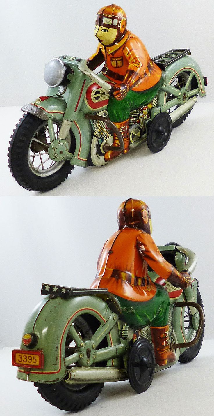 Harley Davidson Toys : Best images about vintage toy motorcycles on pinterest