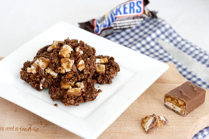 Sinner Sunday: No bake Snickers cookies