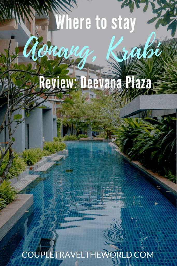 Luxury Accommodation Krabi - Where to Stay in #Krabi #Aonang We stayed at the Deevana Plaza Krabi Aonang and had an amazing time. See coupletraveltheworld.com for our full review of the hotel & our experience in Krabi!