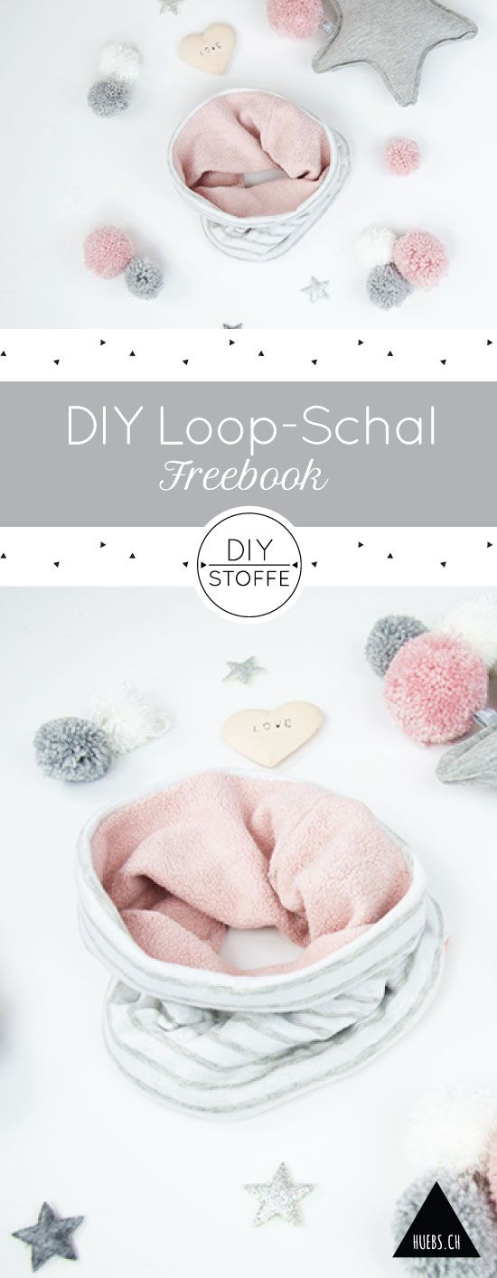 Loop Schal – Anleitung und Schnittmuster