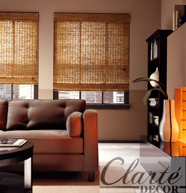 Persianas de bambu: Woods Shades, Romans Shades, Decoration, Google Images, Hunter Douglas, Wooden Shades, Woven Woods, Windows Treatments, Windows Shades