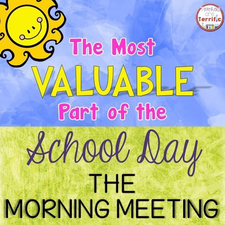 The Most Valuable Part of the School Day: The Morning Meeting. Amazing post. The story about the dog had me in tears and is the is the perfect example of why morning meeting is so important for creating a safe and supportive community in your classroom. M