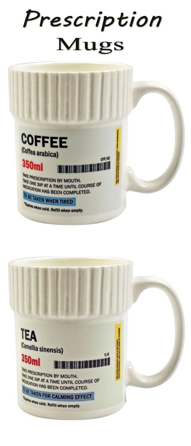Prescription Mugs || #coffee #tea