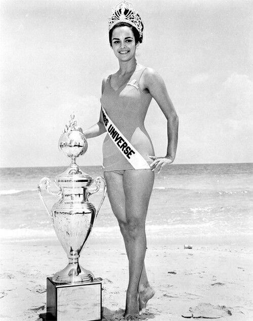 """Corina Tsopei ~ """"Miss Universe"""" 1964"""