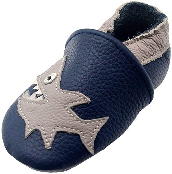 iEvolve Baby Shoes Baby Toddler Baby Moccasins Baby Soft Sole Shoes Baby Walking Shoes Crib Shoes