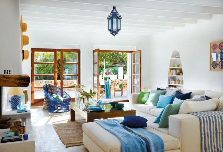 Aprende todas las claves del estilo Mediterráneo | Casas Que Inspiran via casasqueinspiran.com