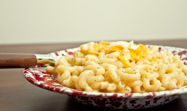Homemade Stovetop Mac and Cheese for Two (the secret is freshly grating your own cheese!)