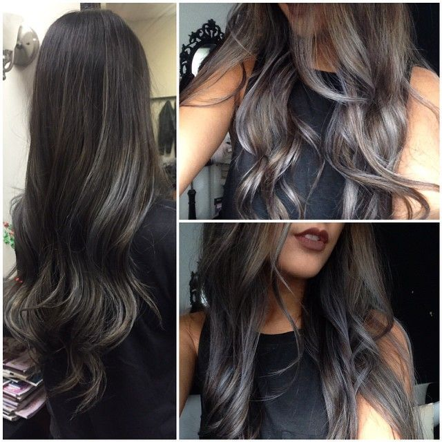 1000+ ideas about Black Balayage on Pinterest