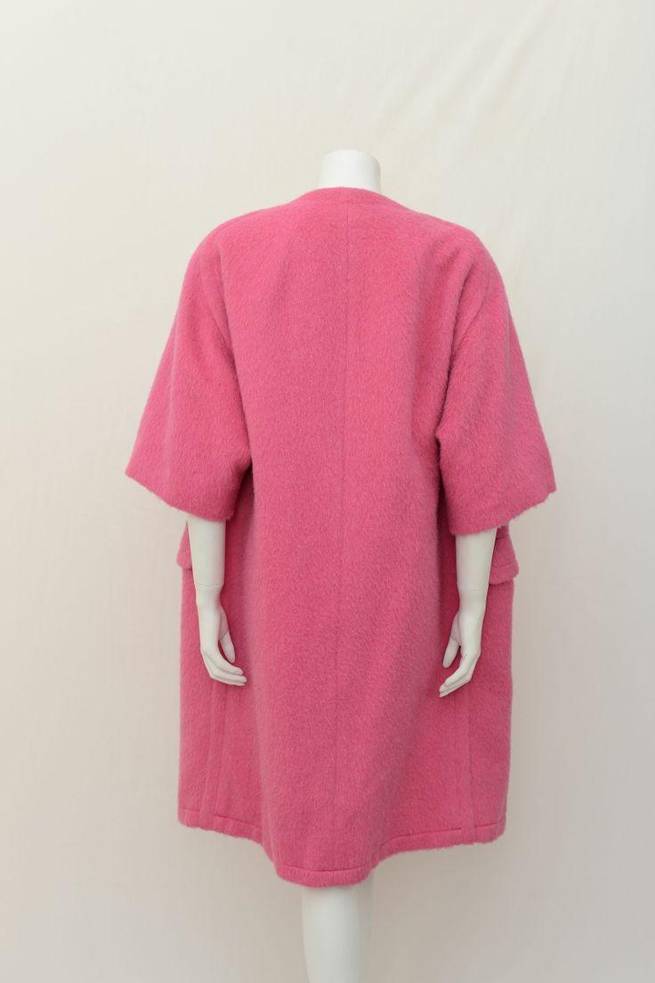 vintage pink swing coat | 1950s Harvey Nichols Swing Coat