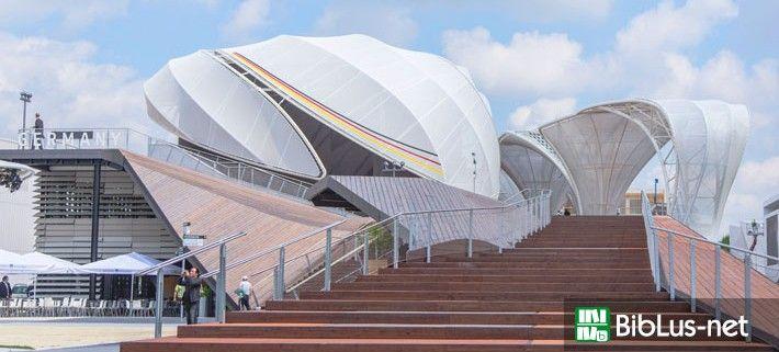 """Expo 2015 architettura: """"Campi di idee"""", il padiglione della Germania"""
