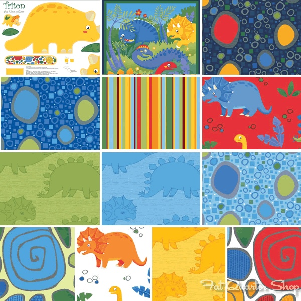 Dinosaur jungle club by benartex fabric quilting kids for Kids jungle fabric