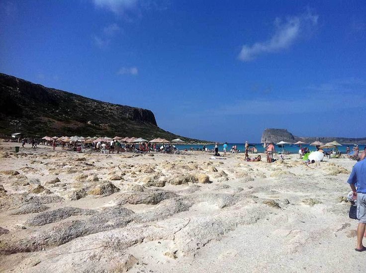 Balos beach and lagoon in Western Crete