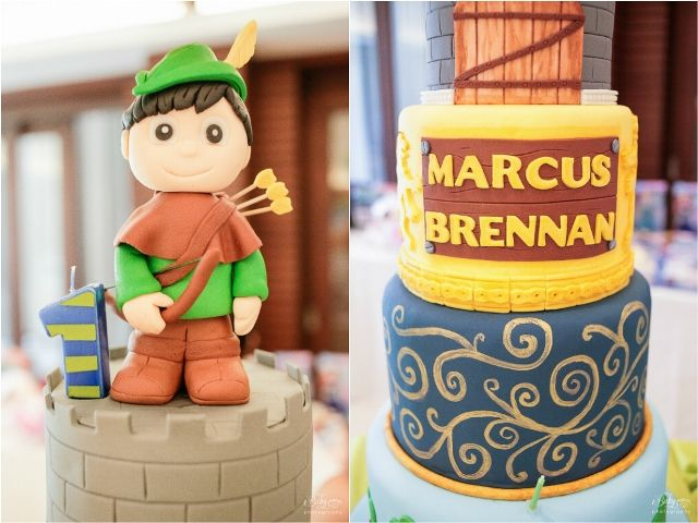 Brent's Little Archer Themed Party – Cake